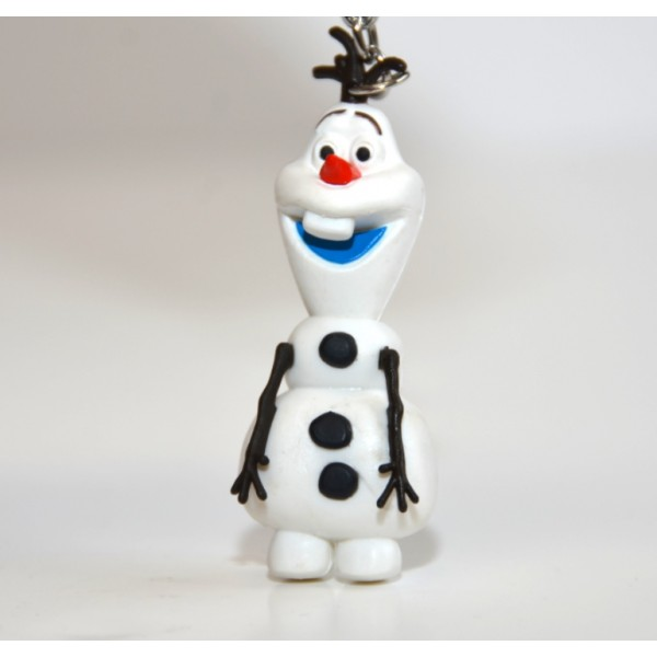 Olaf from Frozen 3D Keyring Key Chain, Disneyland Paris Original