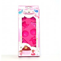 Disneyland Paris Disney Princess Silicone Mould, Cake, Chocolate, Candy Jelly, Cookie Muffin Ice Mould