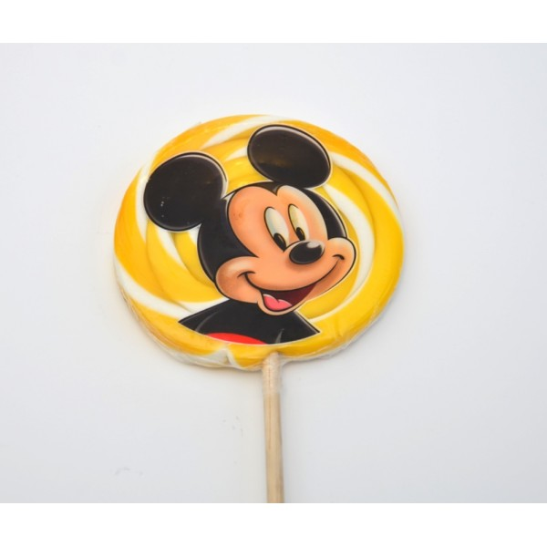 Disneyland Paris Mickey Mouse Large Lollipops