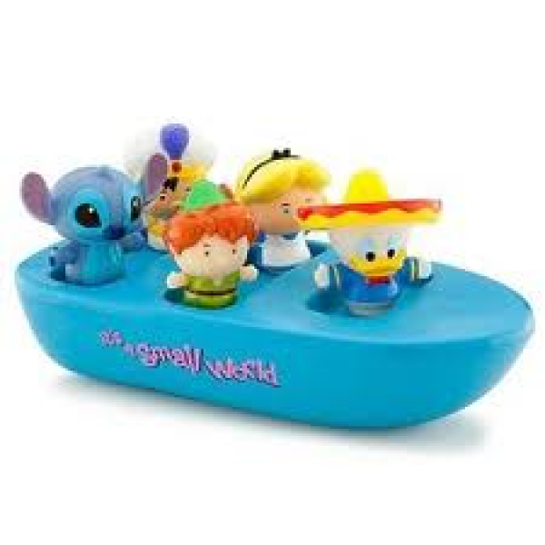 Disney Small World Bath Boat Set