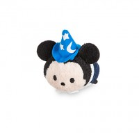 Disney Parks Fantasyland Sorcerer Mickey Tsum Tsum Mini Soft Toy