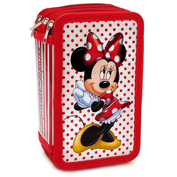 Disney Minnie Mouse Deluxe Filled Pencil Case
