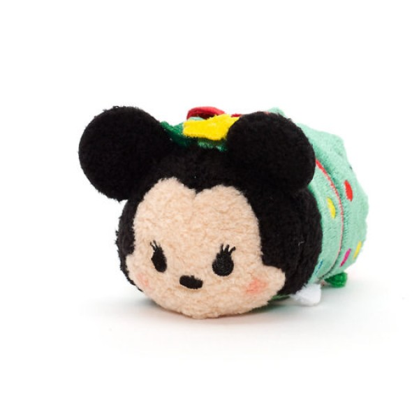 Mickey and Minnie Mouse Christmas Tsum Tsum Set