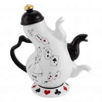 Disney Alice in Wonderland Teapot -  New collection Disneyland Paris
