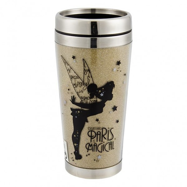 Tinker Bell in Gold Travel Mug, Disneyland Paris