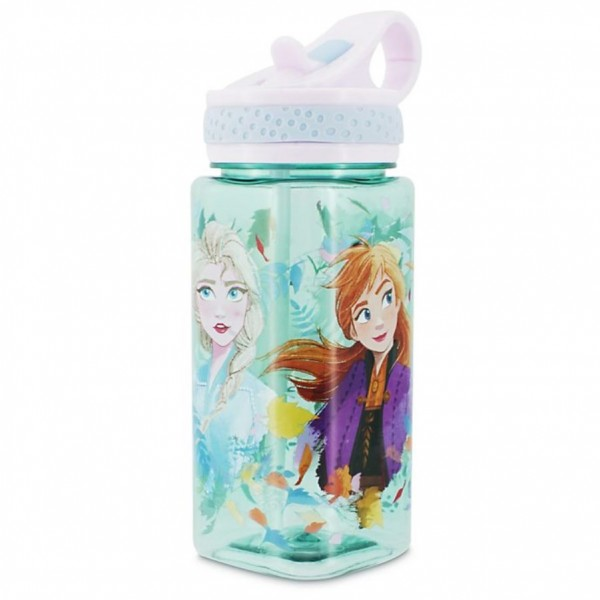 Disney Frozen 2 Blue Water Bottle
