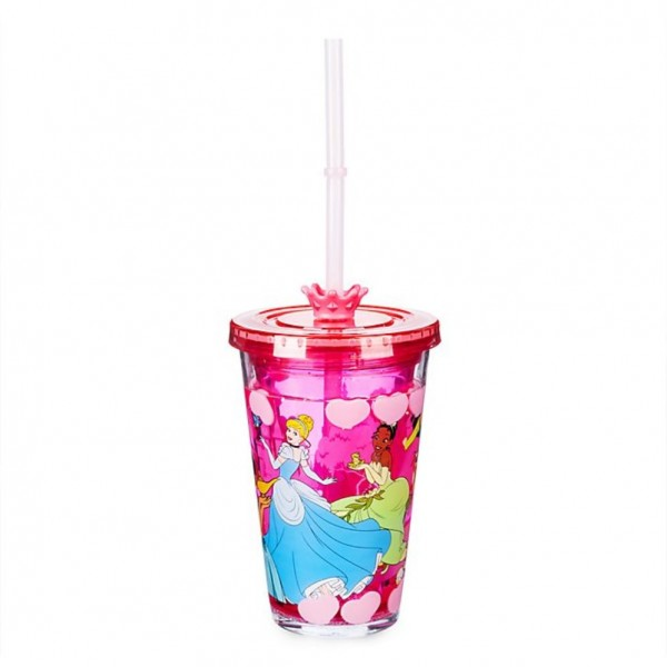 Disney Princess Straw Tumbler