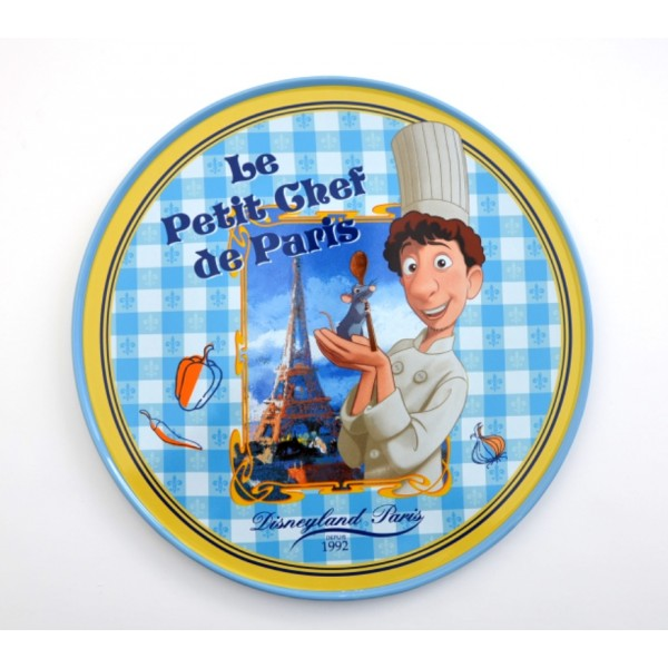 Disneyland Paris Authentic Bistro Collection Ratatouille Plate