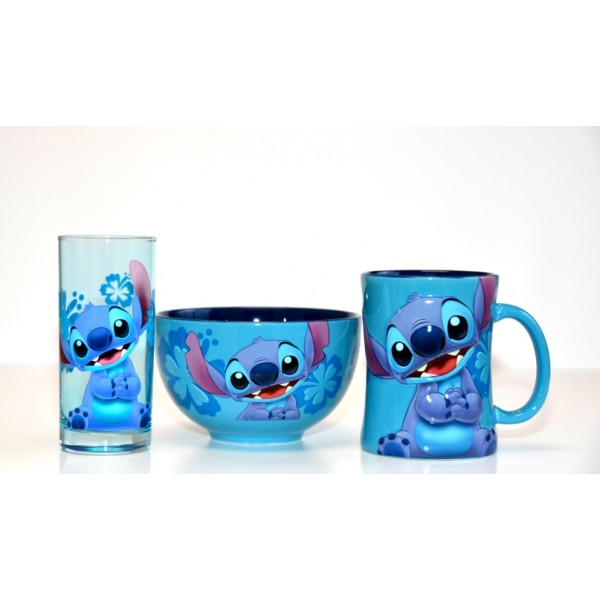 Disney Character Stitch Breakfast Set