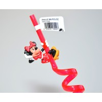 Disney Minnie Mouse Curly Straw