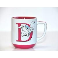 Dumbo letter D mug