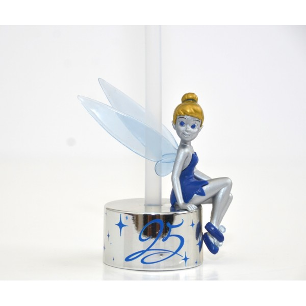 Disneyland Paris 25th Anniversary Tinker Bell Bottle Cap Straw