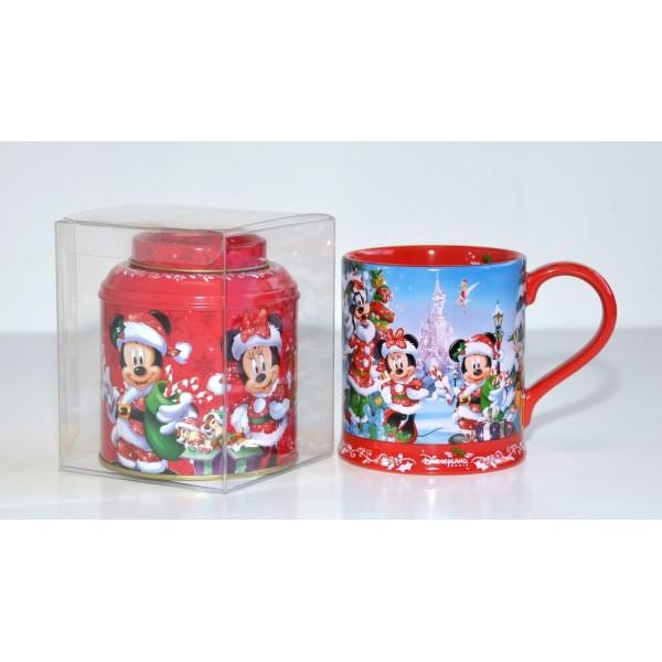 Disney Christmas Mug and Tea Gift Set