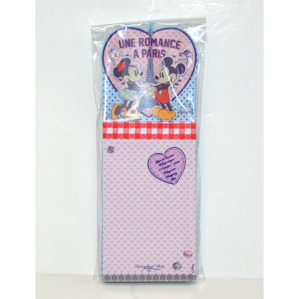 Disney Mickey and Minnie Mouse Magnetic Shopping list