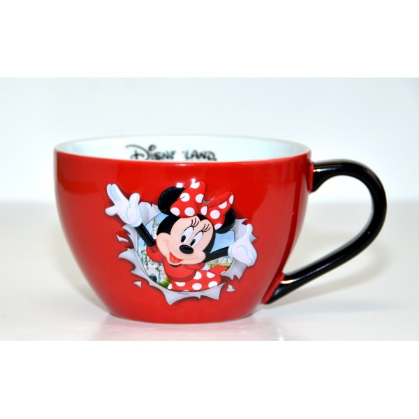 Disney Minnie Mouse Burst Bowl with handle