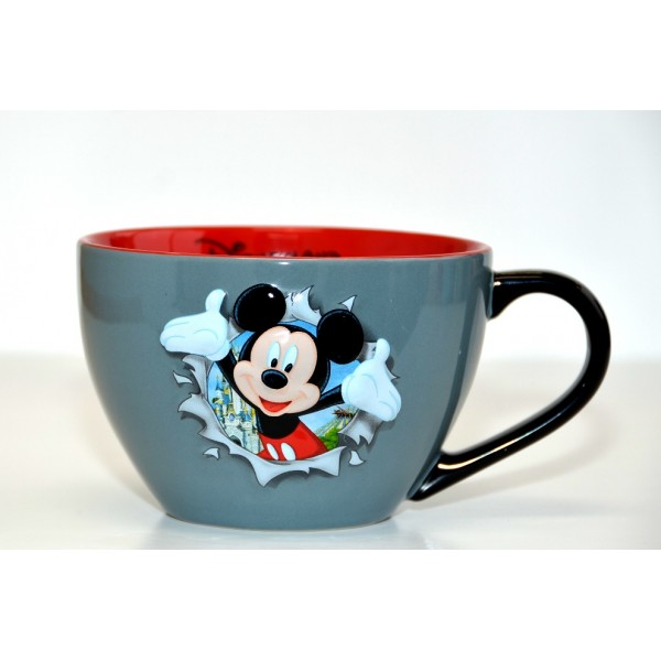 Disney Mickey Mouse Burst Bowl with handle
