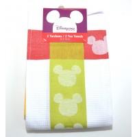 Disney Mickey Mouse Icon Colour – Vibrant Tea Towel Set of Two
