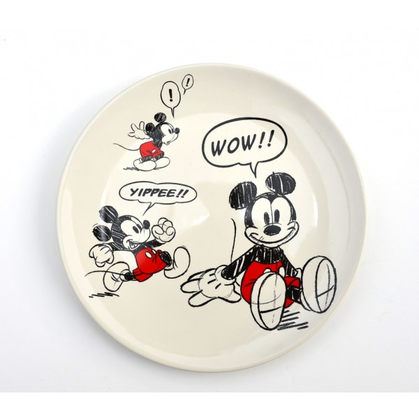 Mickey Mouse Comic Strip Side Plate, Disneyland Original