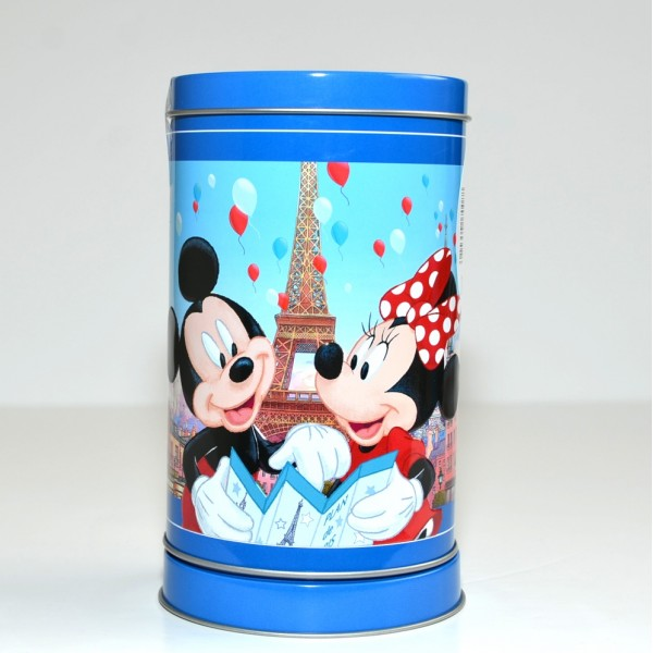 Disneyland Paris Musical shortbread cookie tin