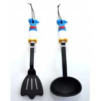Disney Donald Duck Cooking Set, Soup Scoop and Spatula