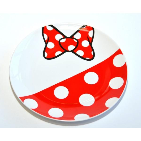 Disneyland Paris Minnie Mouse Fun Plate