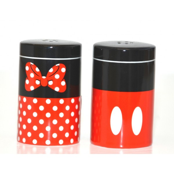 Disney Mickey and Minnie Mouse Salt and Pepper Set