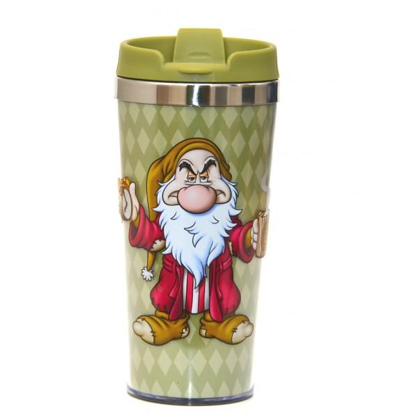 Disney Travel Mug - Grumpy - I HATE Mornings