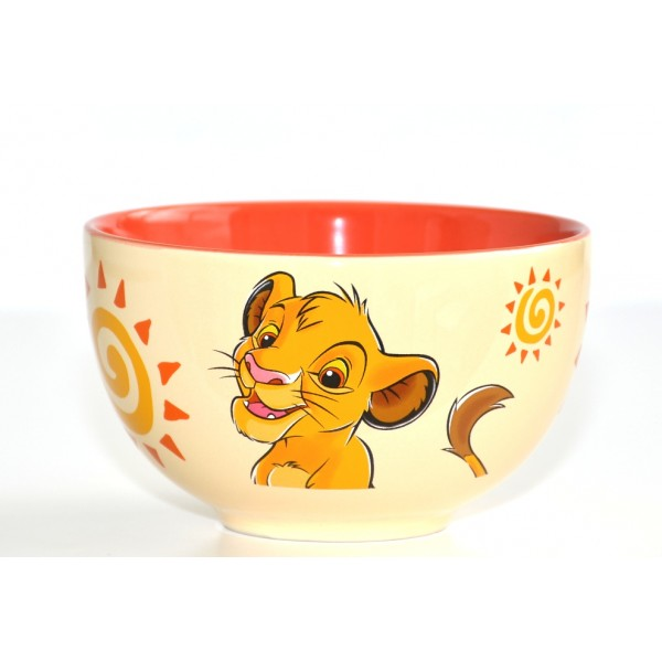 Disney Character Portrait Simba Bowl