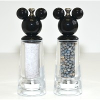 Disneyland Paris Mickey Mouse Salt and Pepper Mill Set