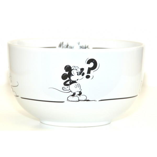 Mickey Mouse Comic Black and White bowl, Disneyland Paris