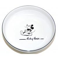 Mickey Mouse Comic Black and White pasta plate, Disneyland Paris