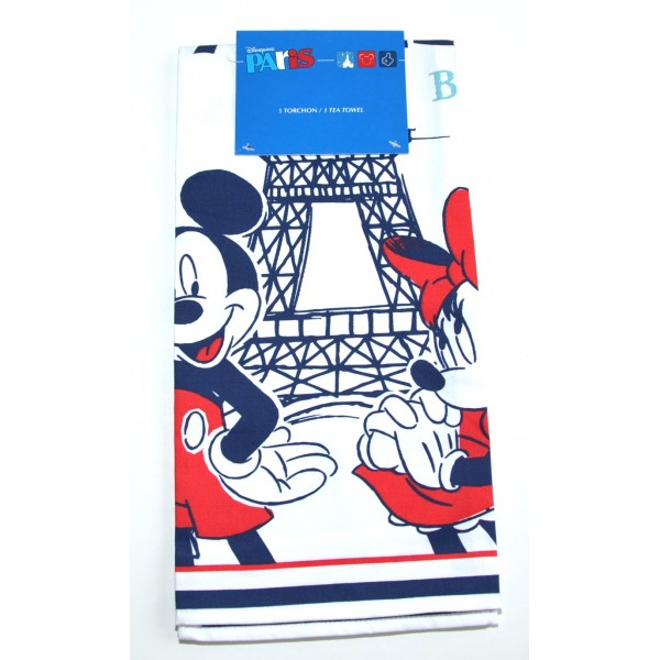 Disneyland Paris Tea Towel