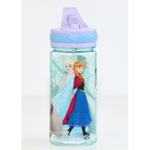 Frozen Water Bottle with Built-In Straw - Disneyland Paris