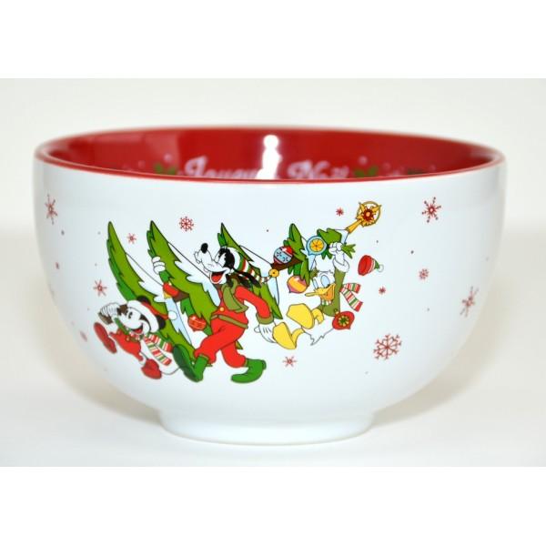 Disneyland Paris Character Christmas Bowl