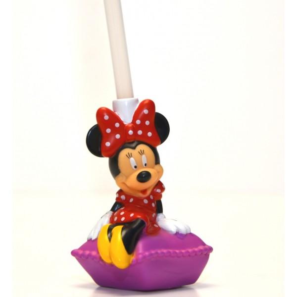 Disney Bottle Cap Straw - Minnie Mouse Pillow