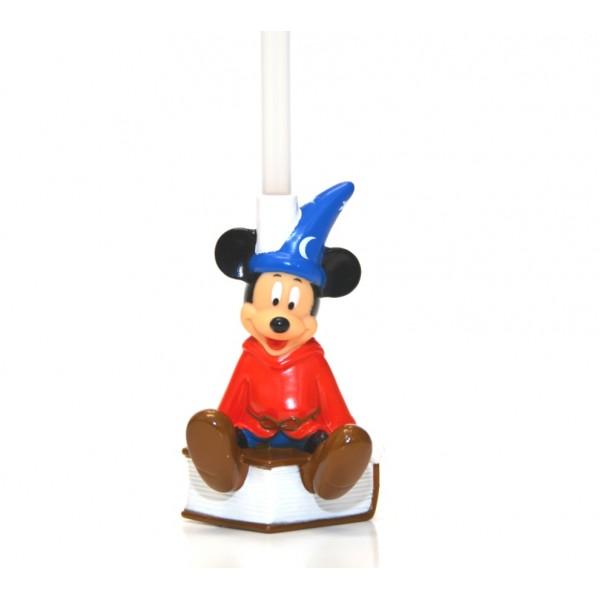 Disney Bottle Cap Straw - Mickey Sorcerer in the book