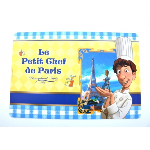 Disneyland Paris Authentic Bistro Collection Ratatouille Placemat