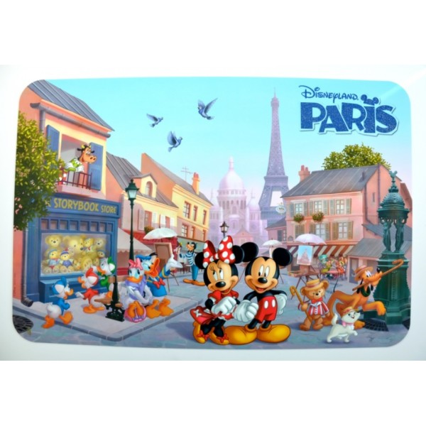 Disneyland Paris Mickey and Friends Placemat