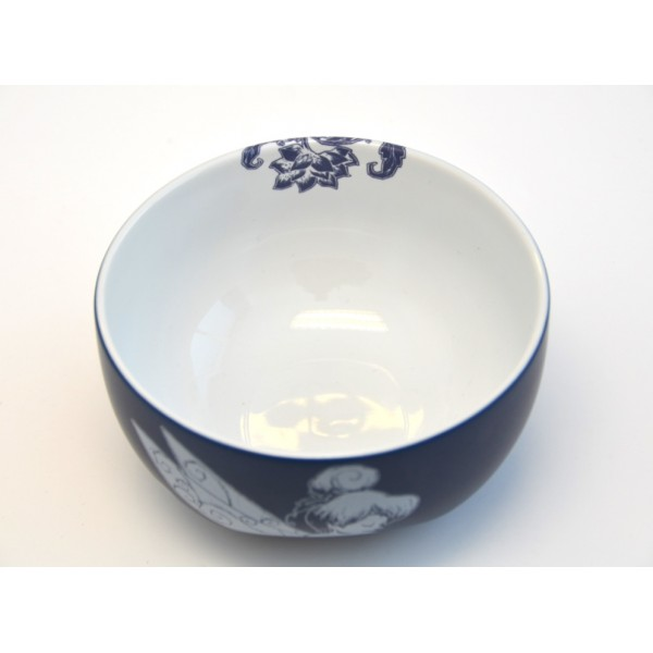 Tinker Bell Blue And White Bowl