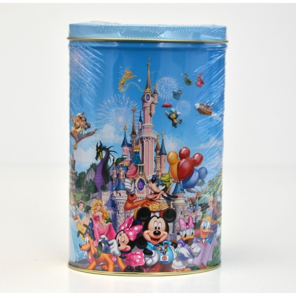 Disneyland Paris Story Book flavoured candy tin