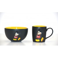 Disney Mickey Mouse Mug and Bowl Set