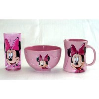 Disney Minnie Mouse Breakfast Set