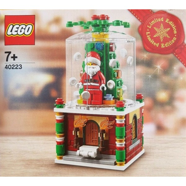 Lego 40223 Santa Claus Snow globe Father Christmas Limited edition