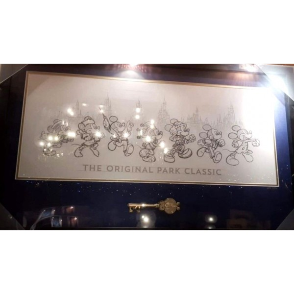 Mickey Mouse 90th Anniversary Key and Frame Limited Edition