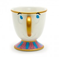 Disney Chip Character Mug, Beauty and the Beast