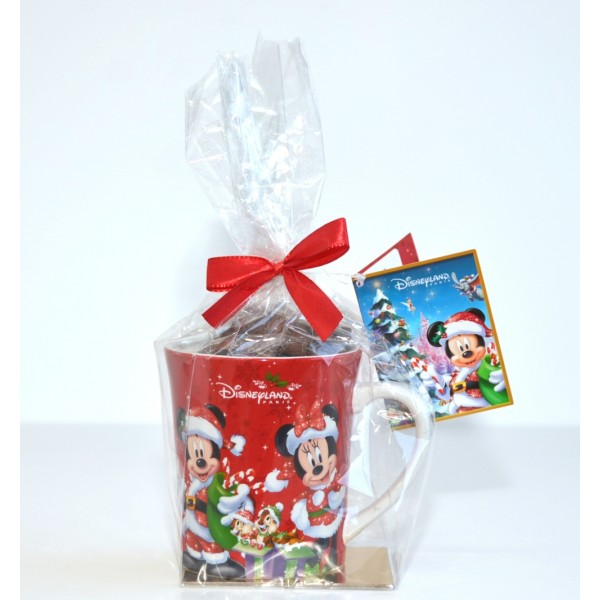 Disneyland Paris Christmas Mug and Chocolates Gift