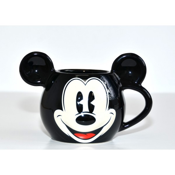 Disney Mickey Mouse 3D face mug with ears