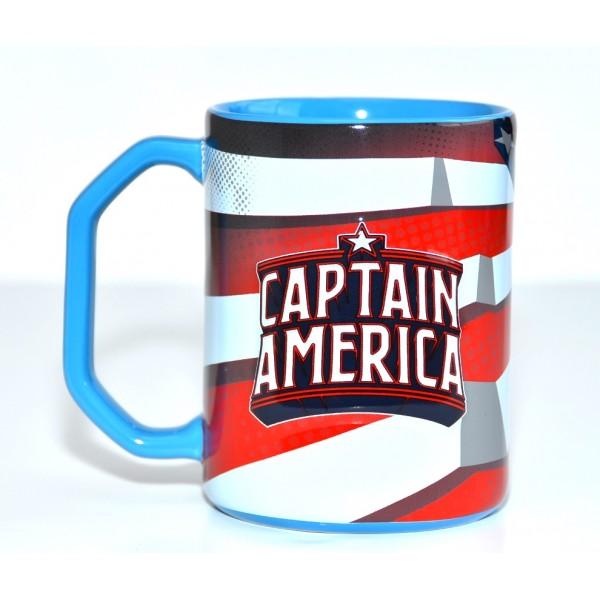 Captain America raised artwork Mug