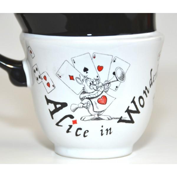 Disney Alice in Wonderland Stacked Mug - New collection Disneyland Paris