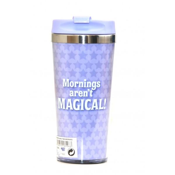 Disney Travel Mug - Tinker Bell - Mornings aren't MAGICAL